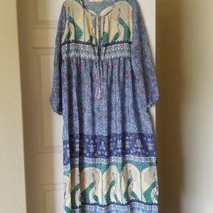 NWOT. Bohemian Dress